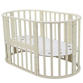 Круглая кроватка Топотушки Олимпия (45) цвет: слоновая кость