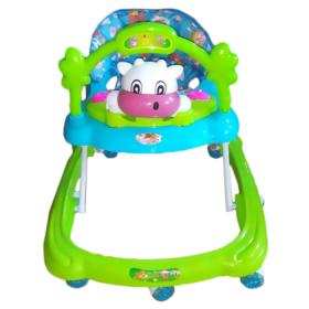 Детские ходунки Alis Коровка, MLT-805 цвет: зеленый