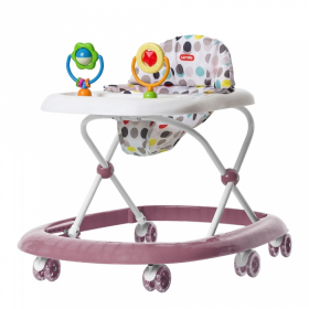 Ходунки детские Carrello Tempo CRL-7202 цвет: розовый/rose