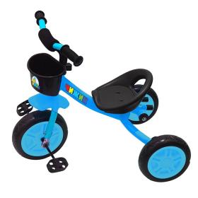 Велосипед трехколесный Чижик без ручки H003B цвет: синий