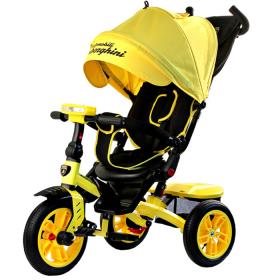 Велосипед трехколесный Lamborghini Panorama L5Y, цвет: желтый