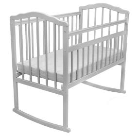 Кроватка-качалка Malika Melisa-2 цвет: белый