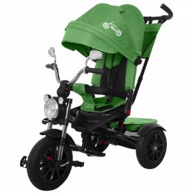 Велосипед трехколесный Tilly (Carrello) Tornado T-383 цвет: зеленый/green
