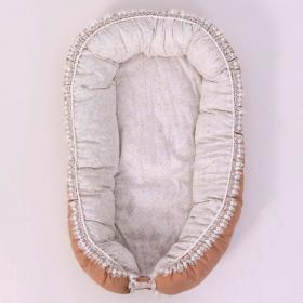 Кокон-гнездышко Топотушки Облака 139/3 цвет: коричневый
