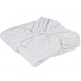 Наматрасник непромокаемый на резинке в круглую кровать, 24010 цвет: белый