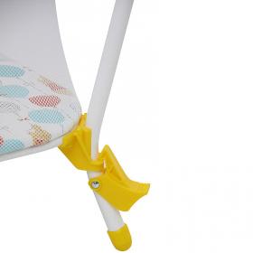 Манеж Polini kids Disney baby Медвежонок Винни Чудесный день цвет: желтый