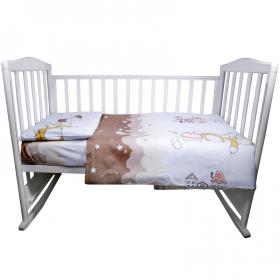 Комплект в кроватку Котики 3 предмета 10054