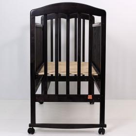 Кроватка-качалка Топотушки Сильвия-2 цвет: венге