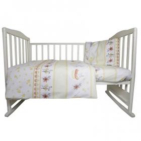 Комплект в кроватку Чаепитие 3 предмета, 10059 цвет: желтый
