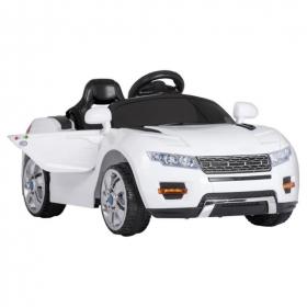 Электромобиль детский на аккумуляторе, пульт, пластиковые колеса JB2400027 цвет: белый