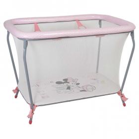 Манеж Polini kids Disney baby Classic, Минни Маус Фея цвет: розовый
