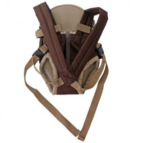 Рюкзак-кенгуру Топотушки Комфорт цвет: коричневый