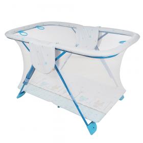 Манеж детский Globex Арена 760х1270х790 цвет: голубой
