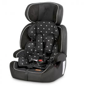 Автокресло Lorelli Navigator (LD-01) группа 1/2/3 (9-36 кг) 2013 цвет: черный/black crowns