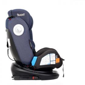 Автокресло Rant GT Isofix Top Tether группа 0/1/2/3 (0-36 кг) цвет: jeans black/blue