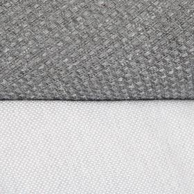 Коляска 2 в 1 Adamex Barletta Lux BR-115/SZ цвет: серый/тёмно-серый