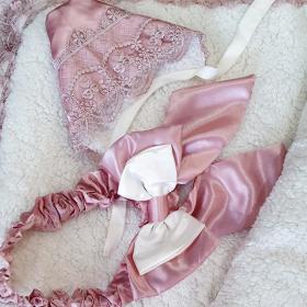 Конверт-одеяло на молнии, кружево цвет: перламутрово-бежевый