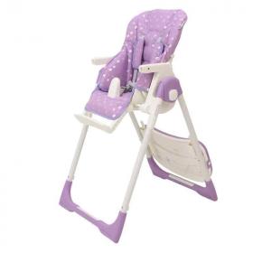 Стульчик для кормления Rant Crystal PVC Fabric RH203 цвет: purple/фиолетовый