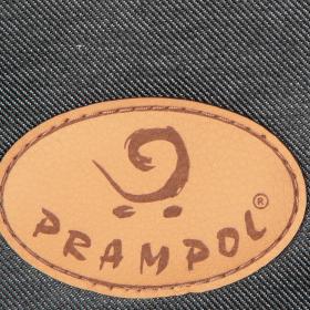 Коляска 2 в 1 Prampol Celia, цвет: графит