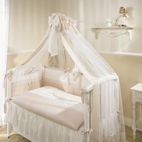 Балдахин для детской кроватки Эстель (Бежевый) арт.  Э1/1-01.2