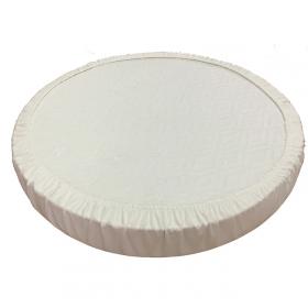 Наматрасник Монис Стиль непромакаемый на резинке круглый  Махра 65-75 см