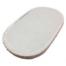 Наматрасник Монис Стиль непромакаемый на резинке овальный  Махра 125×75 см
