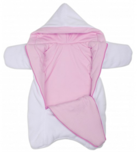 Комплект на выписку BabyGlory Ажур (зима) K022 цвет: розовый