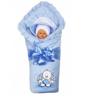 Комплект на выписку BabyGlory Непоседа Весна-Осень K023 цвет: голубой