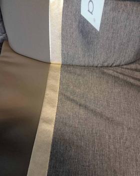 Коляска 2 в 1 Bexa Air (03) цвет: латте кожа/латте