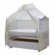 Балдахин для детской кроватки Классик (111/6 Бежевый)